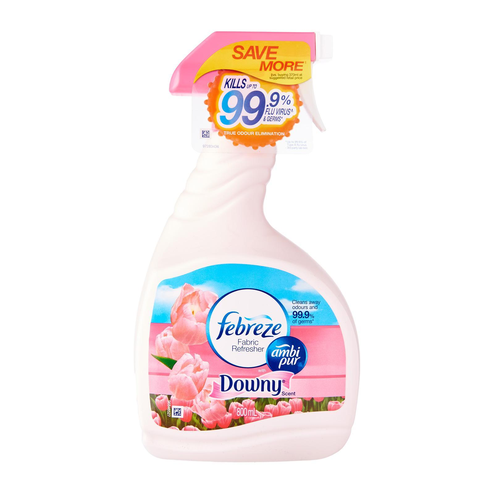 FEBREZE Fabric Refresher Spray Downy Scent 800ml
