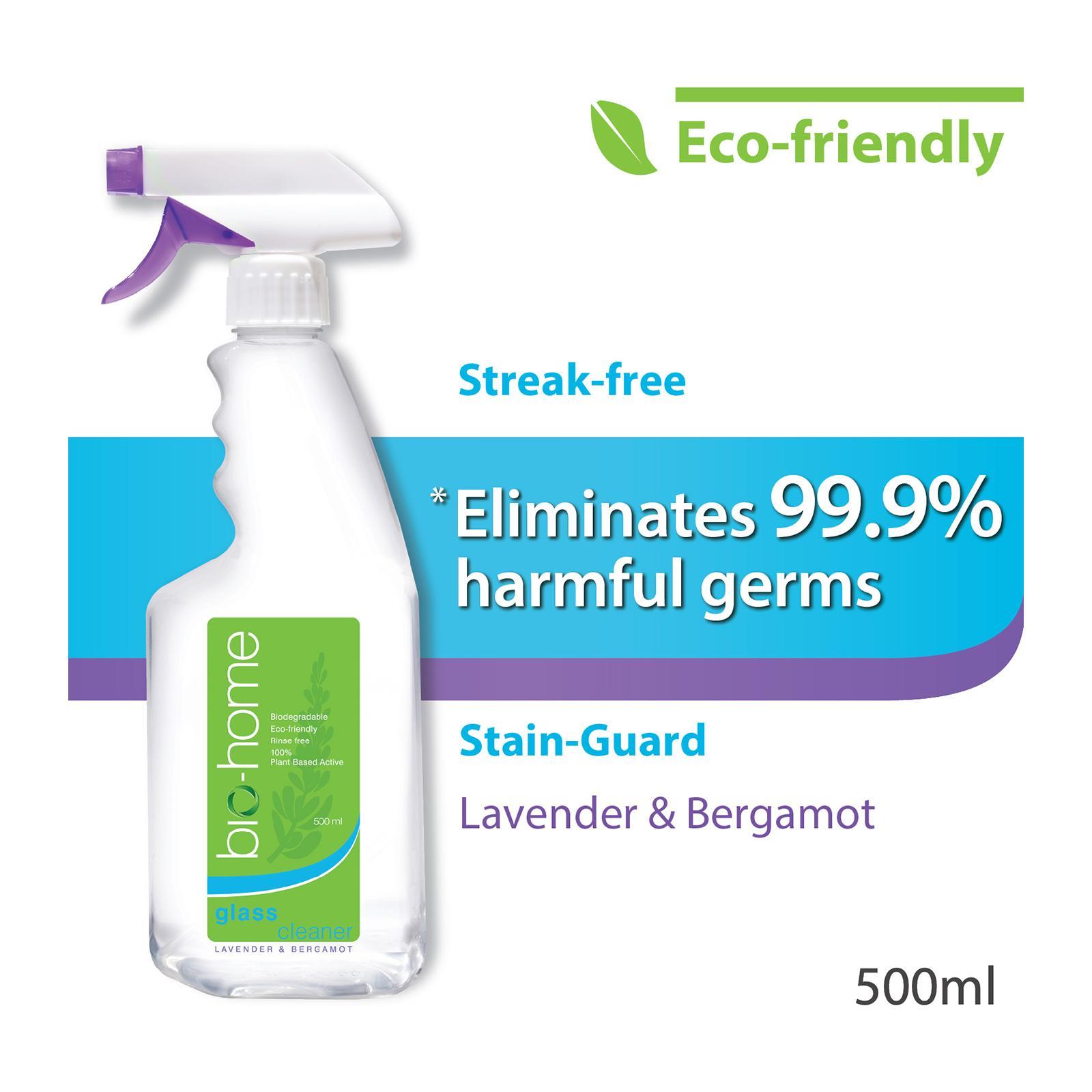 Bio-Home Lavender And Bergamot Glass Cleaner 500 ML