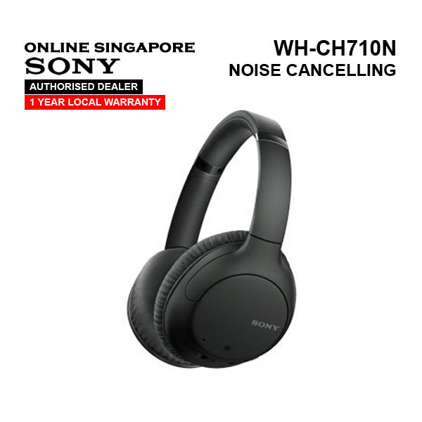 Online Singapore - SONY WH-CH710N Wireless Noise Cancelling Headphones Singapore