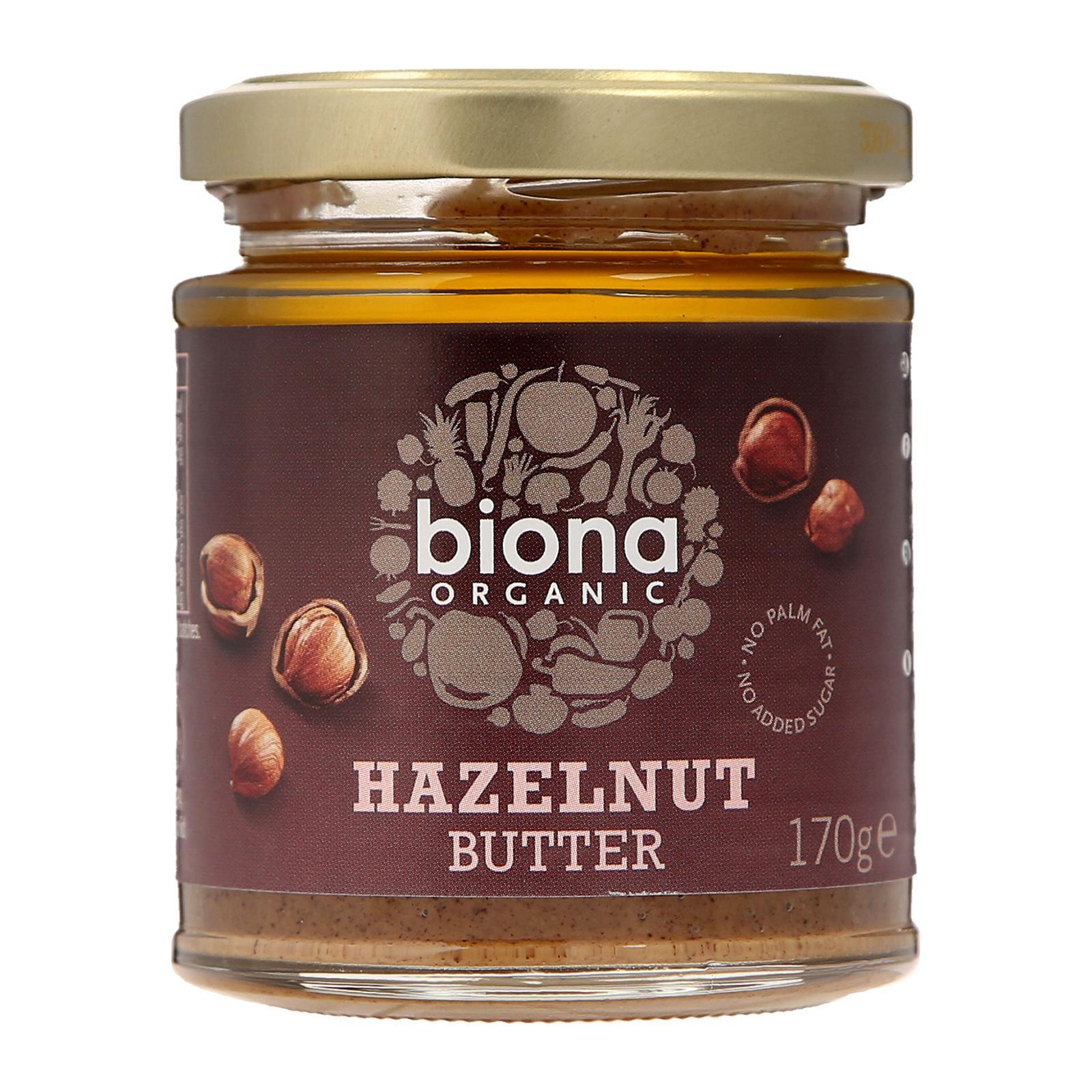 Biona Organic Hazelnut Butter - By Wholesome Harvest