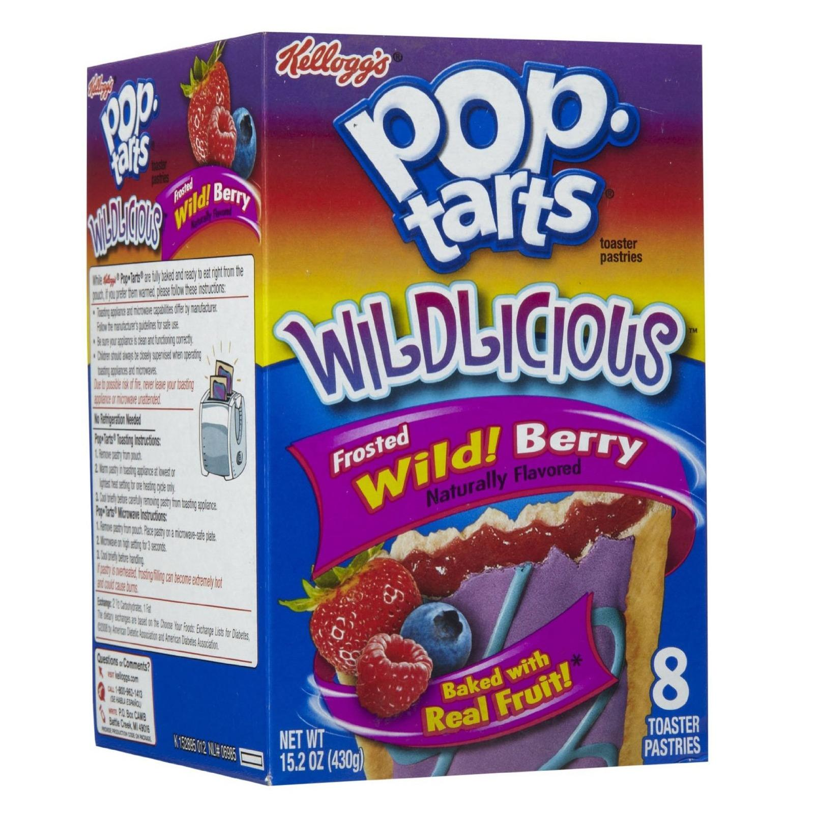 Kellogg's Pop-tarts Wild Berry Flavored Toaster Pastries