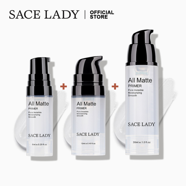 Buy SACE LADY Face Primer Make up Set Base 3 Pcs Oil Control Matte Makeup Poseless Cosmetic Singapore