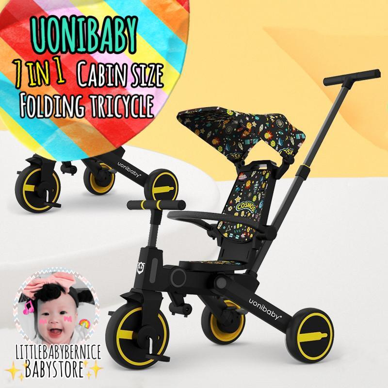 🚴 7 in 1 uonibaby kids tricycle, grows with your children Singapore