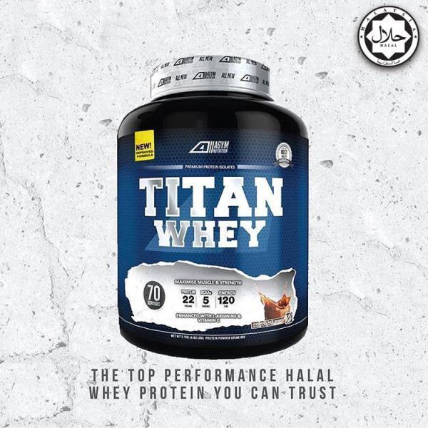 Buy Titan Whey 70 Servings 4.63lbs (Halal) Singapore