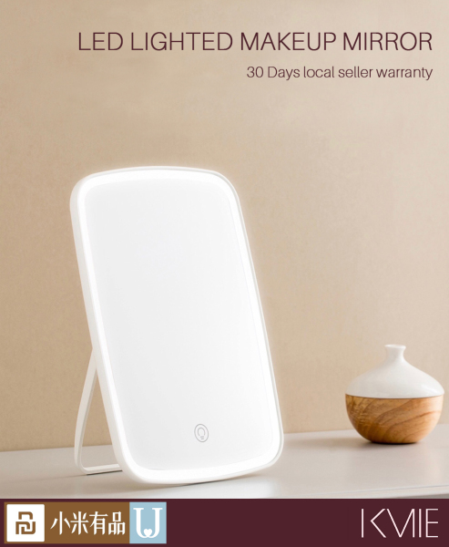 Buy Xiaomi YouPin Jordon & Judy LED Makeup Mirror with Light Touch Switch Control 1200 mAh Singapore