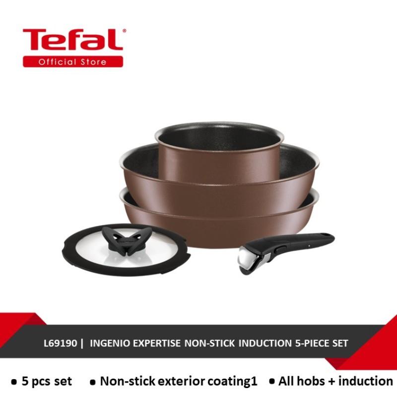 Tefal Ingenio Expertise Non-stick induction 5-PIECE SET L69190 Singapore