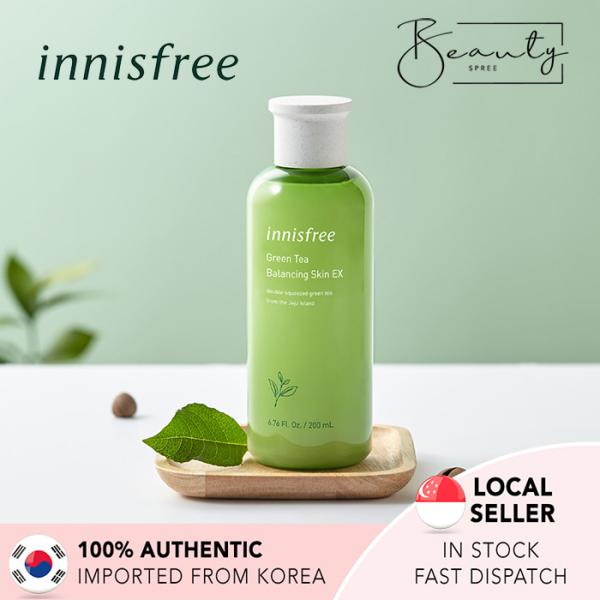 Buy [In Stock] INNISFREE Green Tea Balancing Skin EX Toner 200ml Singapore