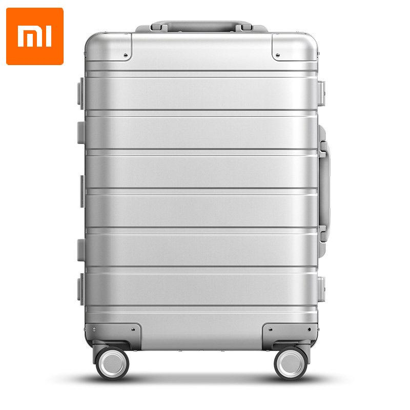 Xiaomi 90 FUN Series Metallic Alloy Travel suitcase 20 inch Cabinsize Luggage TSA Lock [Delivery Within 3 Days]