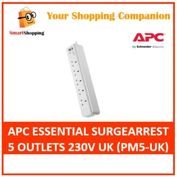 APC Essential SurgeArrest 5 Outlets 230V UK (PM5-UK)