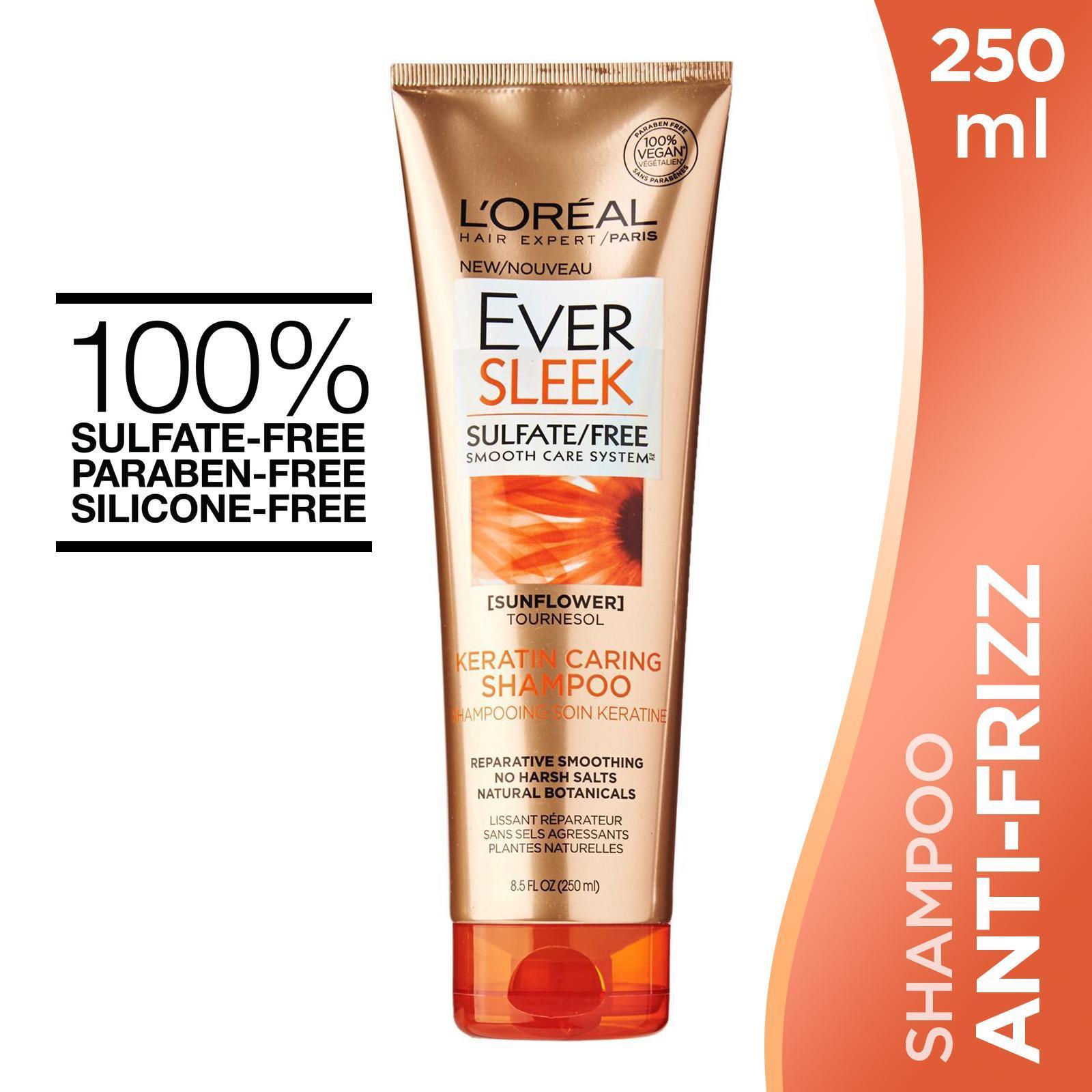 L'OREAL PARIS EverSleek Keratin Caring - Shampoo 250ml