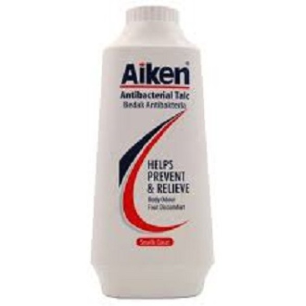 Buy [ Bundle of 4 ] Aiken Antibacterial Talcum Powder 75g Singapore