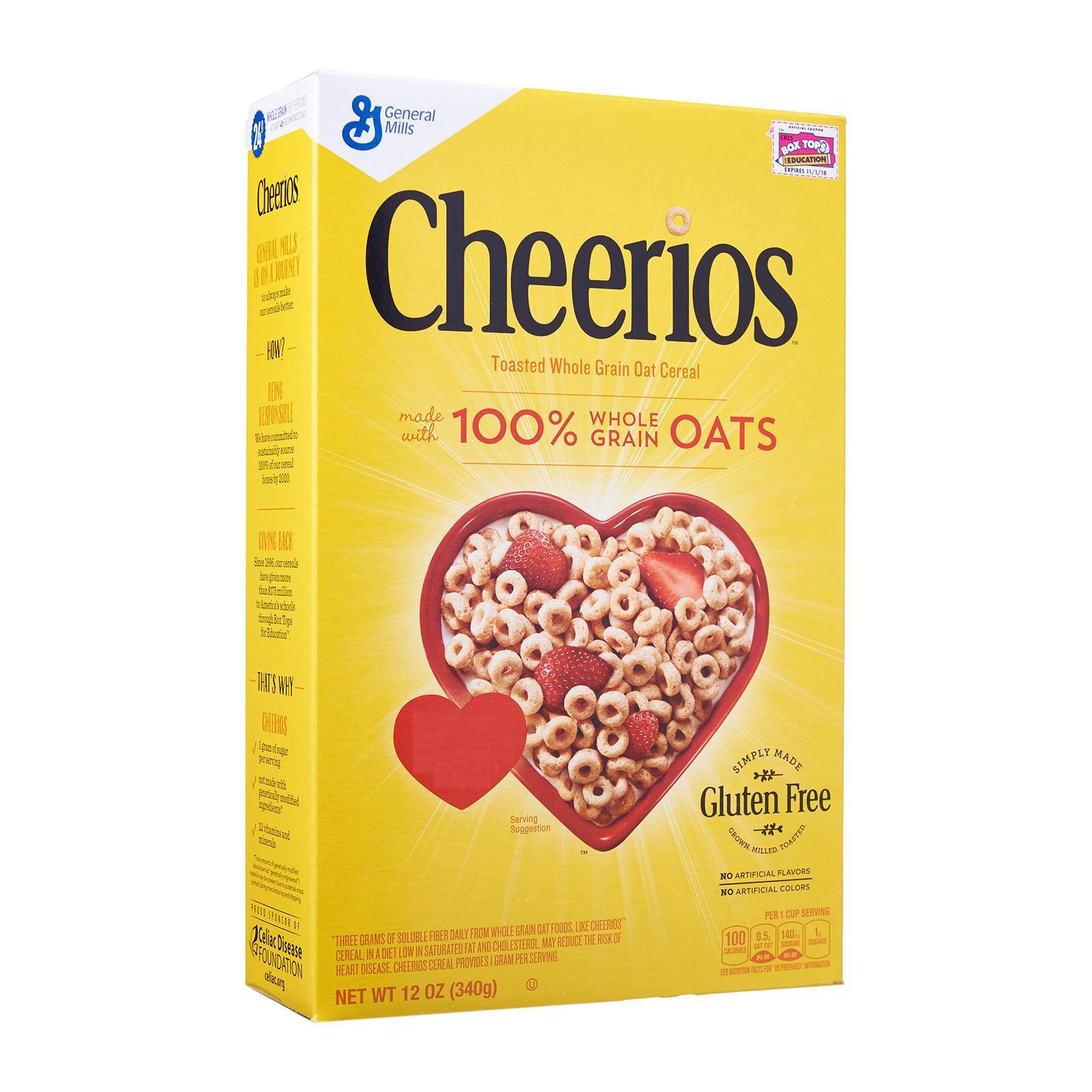 General Mills Cheerios Whole Grain Oats