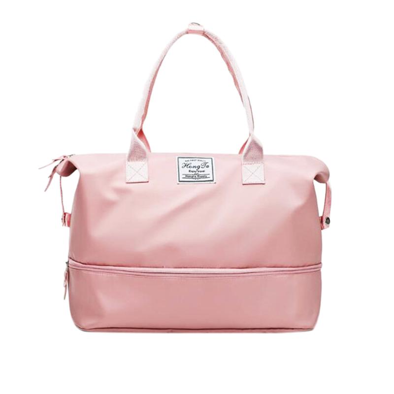 Bảng giá Sports Gym Fitness Dry Wet Separation Yoga Bag Travel Handbags For Shoes Women The Shoulder Sport Luggage