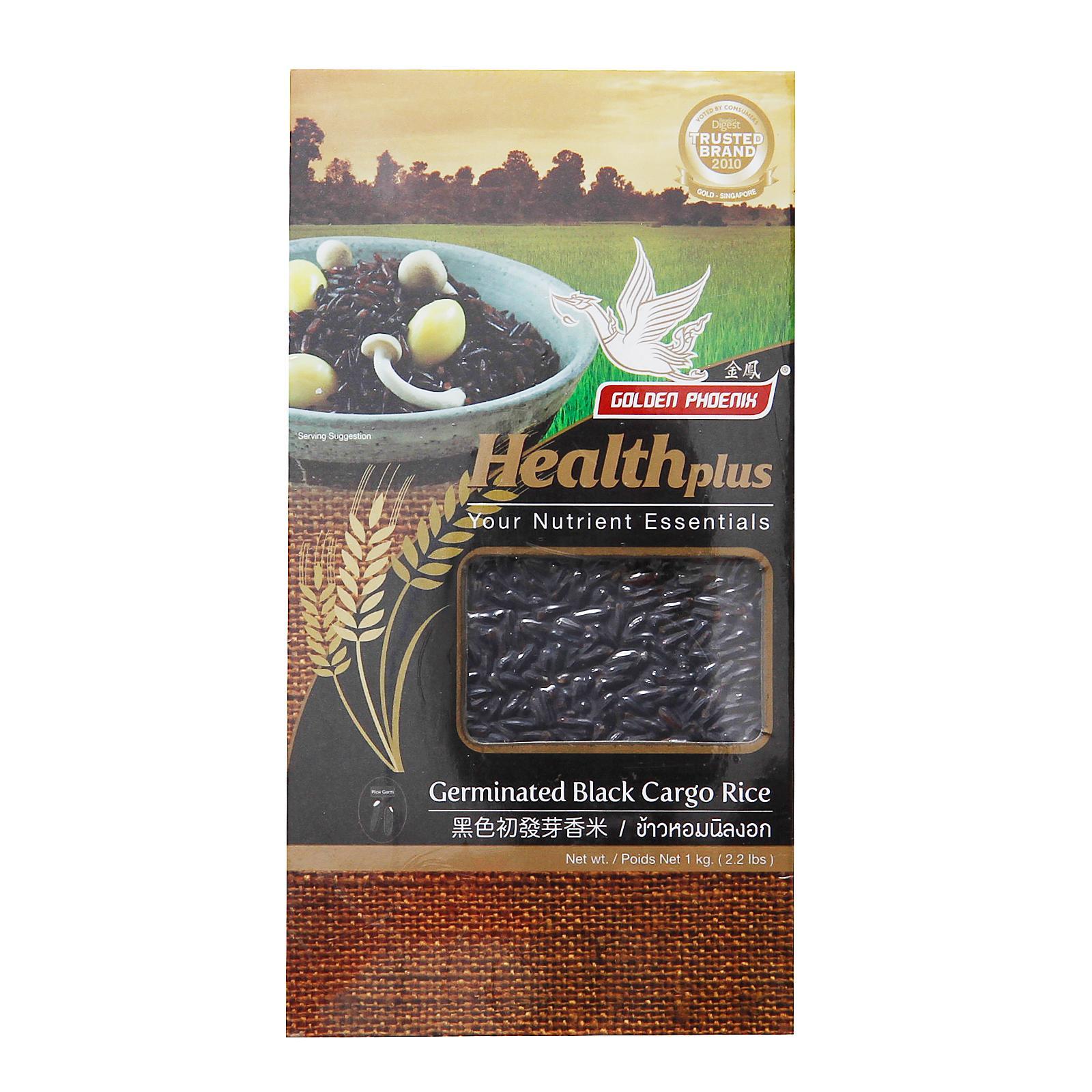 Golden Phoenix Germinated Black Cargo Rice