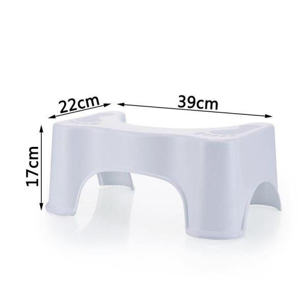 Footrest Chinese Style Chamber Pot Heightening Bathroom Ottoman Urinal Stool Versatile Children Shatter-resistant Pedal Bathroom