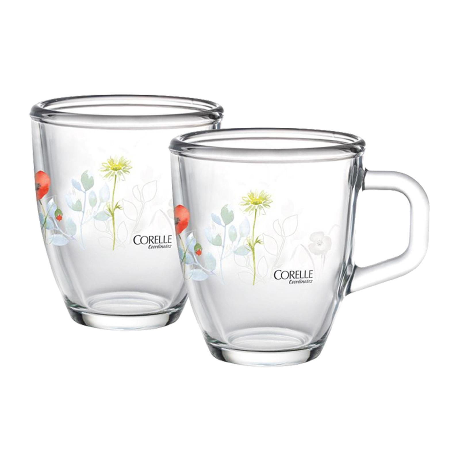 Corelle Coordinates 2 PCS 375 ML Mug Set (Design : Daisy Field)