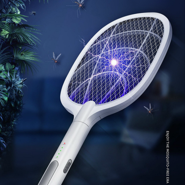 3000V Mosquito Swatter Zapper USB 1200mAh Rechargeable Mosquito killer Kill Fly Bug Zapper Killer-WD-947