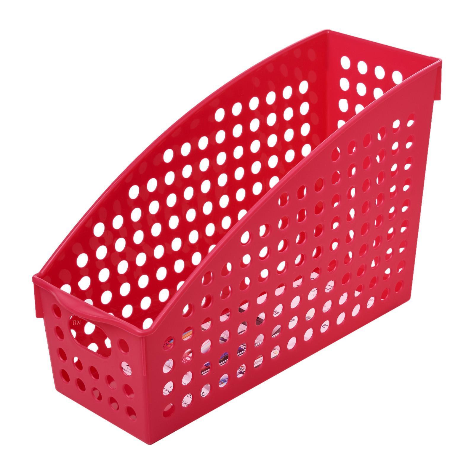 Inomata PP Stand File Basket A4/PNK