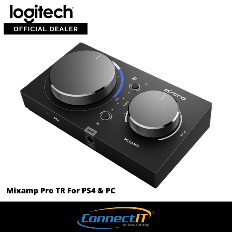 Logitech Astro MixAmp Pro TR Gen 4 Gaming Headset Amplifier For PS4 PC (1 Year Local Warranty) Singapore
