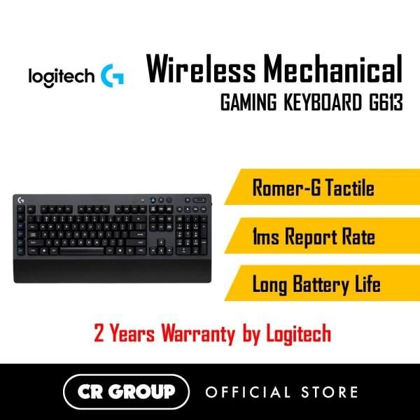 Logitech Wireless Mechanical Gaming Keyboard G613 | Romer-G Tactile | 1ms Report Rate | Long Battery Life Singapore