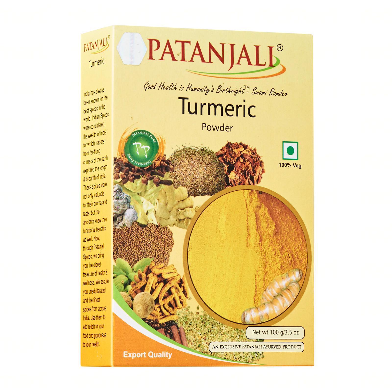 Patanjali Turmeric Powder - By Dashmesh