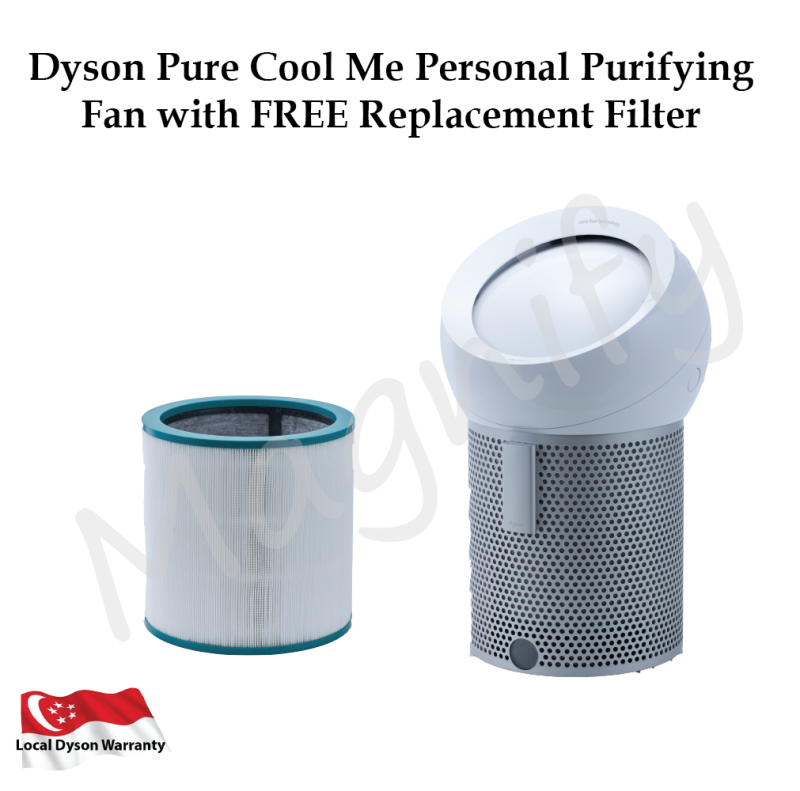 Dyson Pure Cool Me Personal Purifying Fan with FREE Replacement Filter Singapore