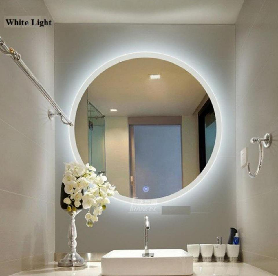 Modern Bathroom LED Mirror Touch Switch Technology Free Shipping