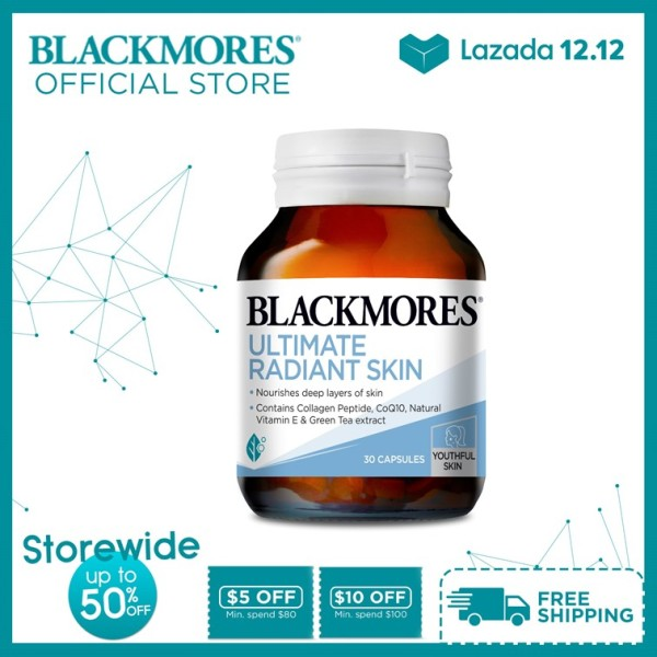 Buy Blackmores Ultimate Radiant Skin 30 capsules [New Launch] Singapore