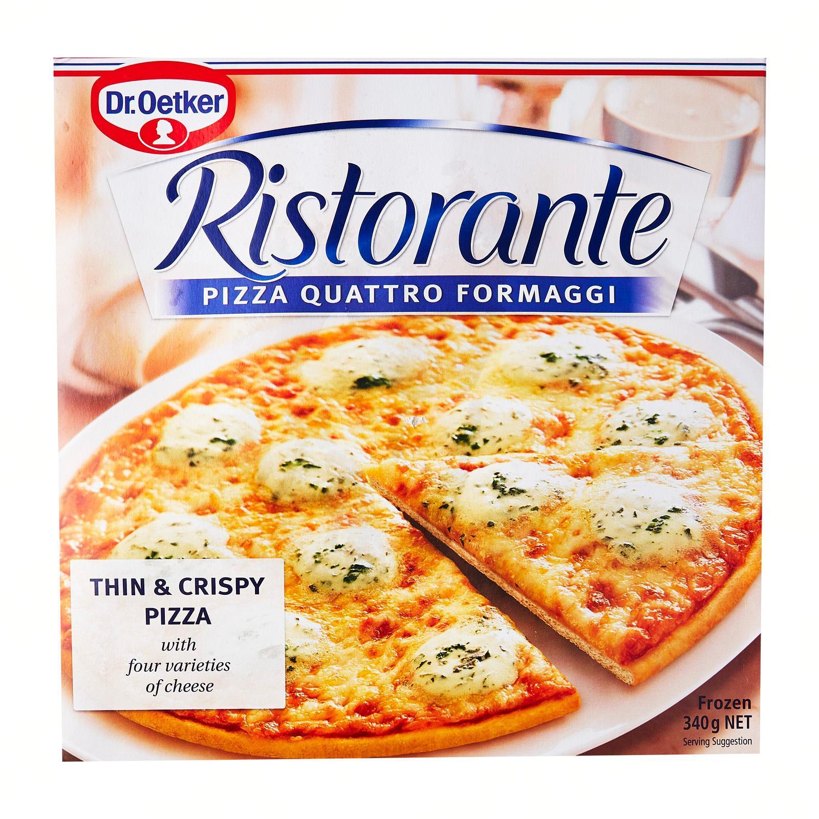 Dr Oetker Ristorante Formaggi Pizza - Frozen