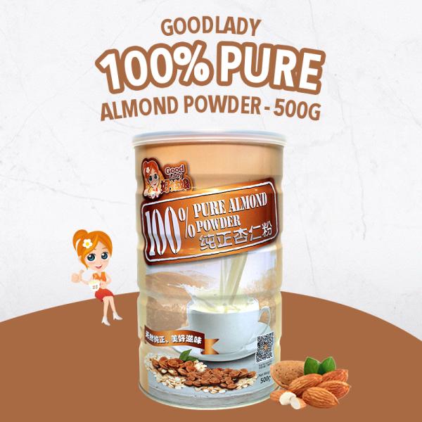 Buy Good Lady 100% Pure Almond Powder - 500g Singapore