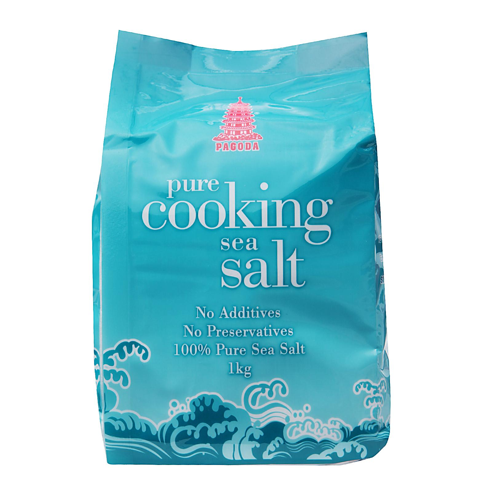 Pagoda Pure Cooking Sea Salt By Redmart.