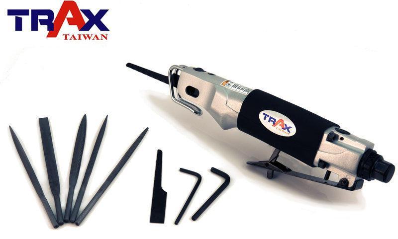 Air Body Saw [ARX-ASF10] (Made in Taiwan) 兩用式氣動鋸/銼刀組]鉅鋼材/鋸木材/鋸子[鉅片*2+10 銼刀*5