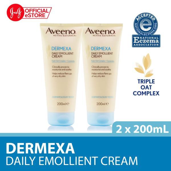 Buy Aveeno Dermexa Cream 200ml x 2 Singapore