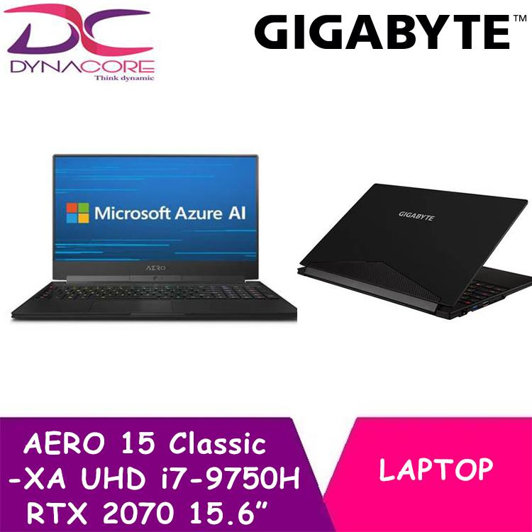 GIGABYTE AERO 15 Classic-XA UHD (i7-9750H/32GB/RTX 2070/1TB SSD/15.6 In UHD 4K IPS/WIN 10)
