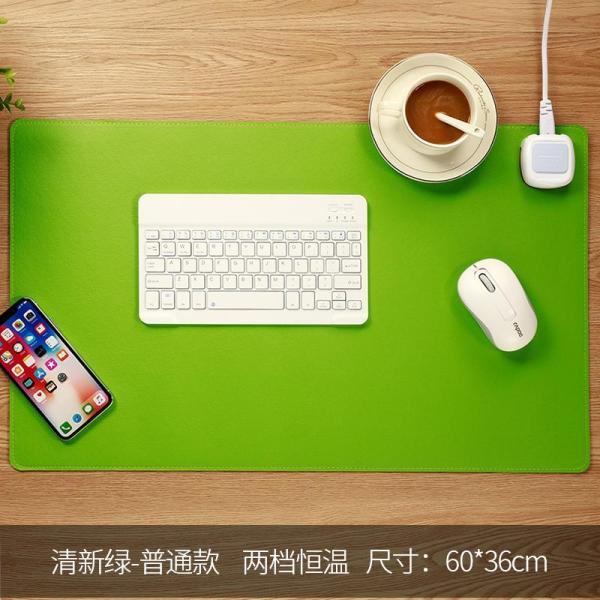 Heating Warm Mouse Pad Table Heating Mat Baofa Heat Pad Students Desk Warm Winter Electric Hot Plate Female Large, Multi-functional Office Desk Surface Panel Computer Safe Heating Adjusting Temperature winter