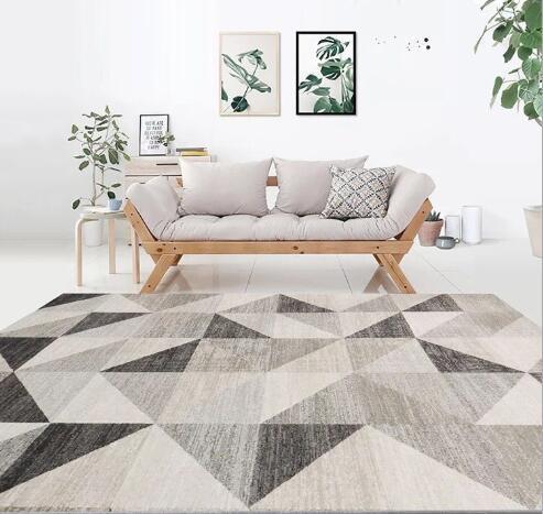 J035 Nordic Carpet/Scandinavian/Velvet feel Rugs 160cm x 230cm