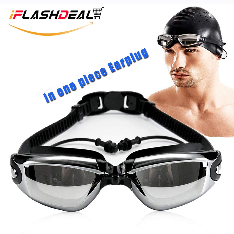 02995da5cad6 iFlashDeal Swimming Goggles Swim Goggles for Adult Men Women Youth Kids  Child Mirrored   Clear Anti