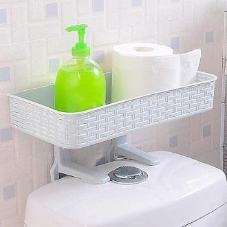 Durable Toilet Storage Rack
