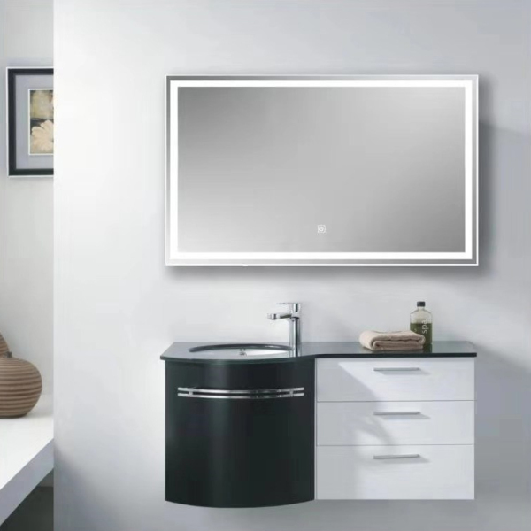 Mirror Light LED Wall Mirror Light Mirror with LED Strip Touch Switch Mirror Light Bathroom Bedroom make up Mirror Light
