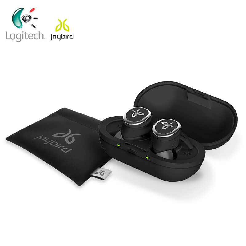 New Logitech Jaybird RUN True Wireless Earphones For Running Secure Fit Waterproof& SweatProof Custom 12 Hours Sound Singapore