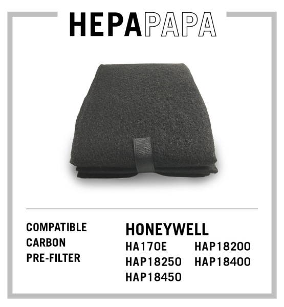 Honeywell Compatible Universal Carbon Pre Filter HRF-AP1 Suitable for HA170E HAP18250 HAP18450 HAP18200 HAP18400 [HEPAPAPA] Singapore