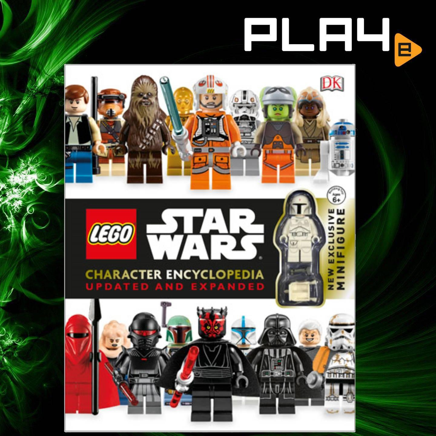 LEGO Star Wars Character Encyclopedia Updated Book