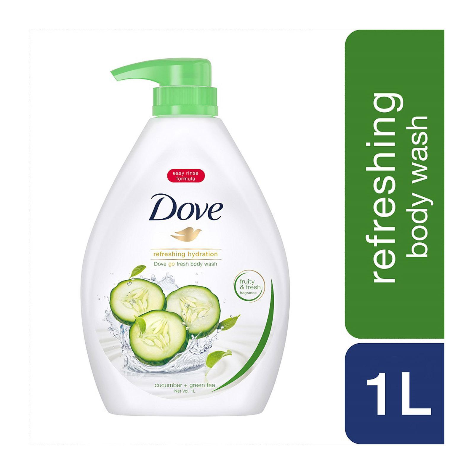 Dove Go Fresh Cucumber Green Tea Paraben-free Body Wash