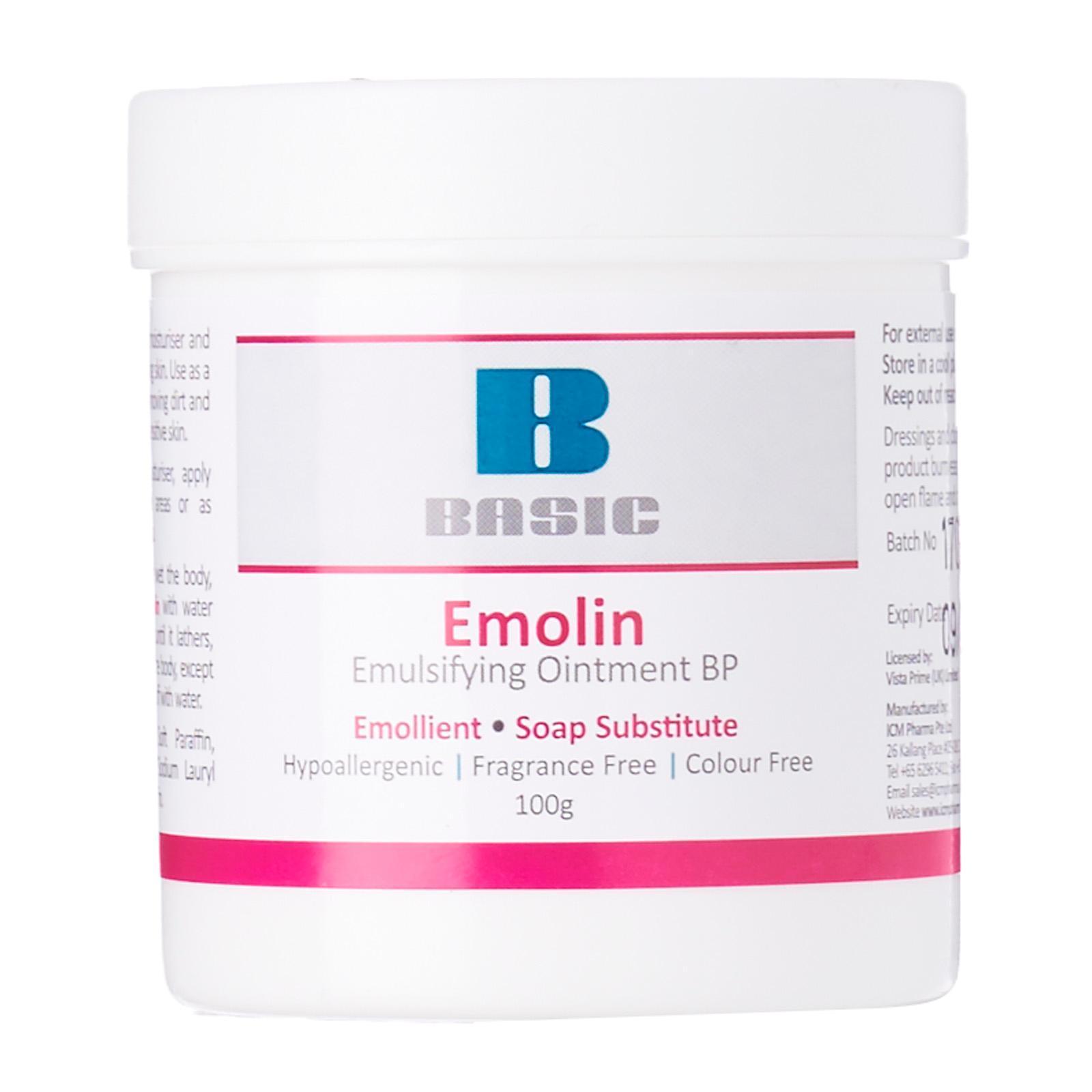 ICM Pharma Basic Emolin (Emulsifying Ointment BP) - By Medic Drugstore
