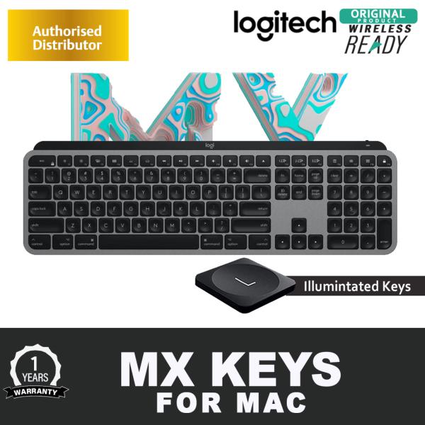 Logitech MX Keys / MX Keys FOR MAC Advanced Illuminated Wireless / Wired Keyboard - Bluetooth/USB (1 YEAR WARRANTY) Singapore