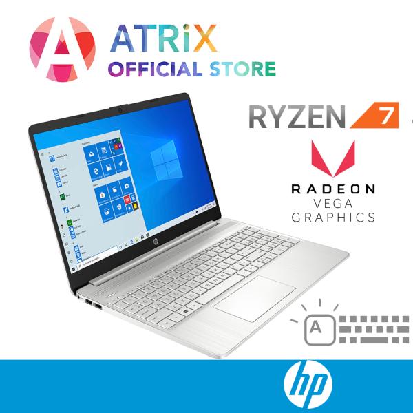 【Express Delivery】2020 HP 15s 15s-eq0143AU | Ultra Slim | 15.6inch FHD | AMD Ryzen 5 -3500U | Backlit Keyboard | 8GB DDR4 RAM | 512GB PCIe SSD | Radeon VEGA8 Graphics | Win10 Home | 1Y HP onsite warranty