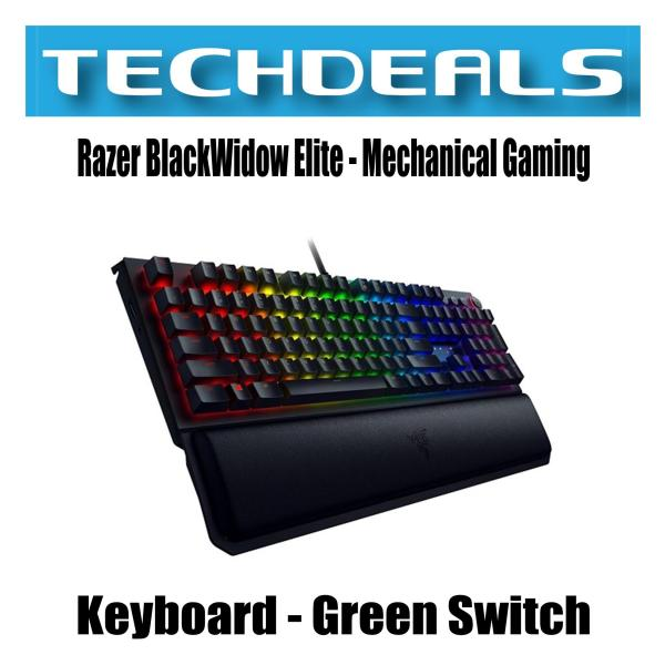 Razer BlackWidow Elite - Mechanical Gaming Keyboard - US Layout Singapore