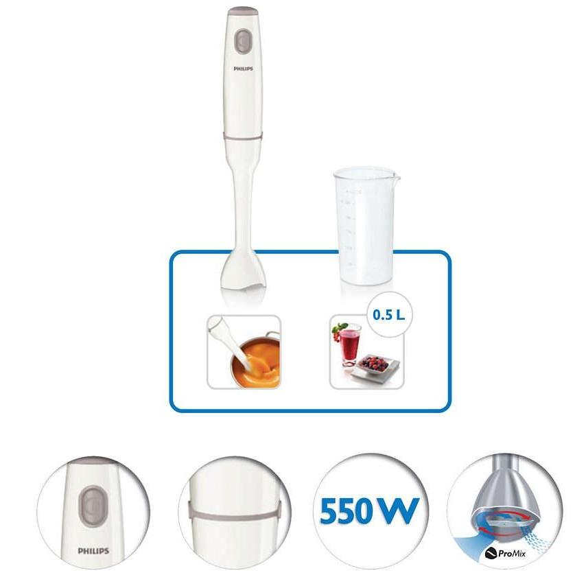 Philips HR1600/01 Daily Collection Hand Blender
