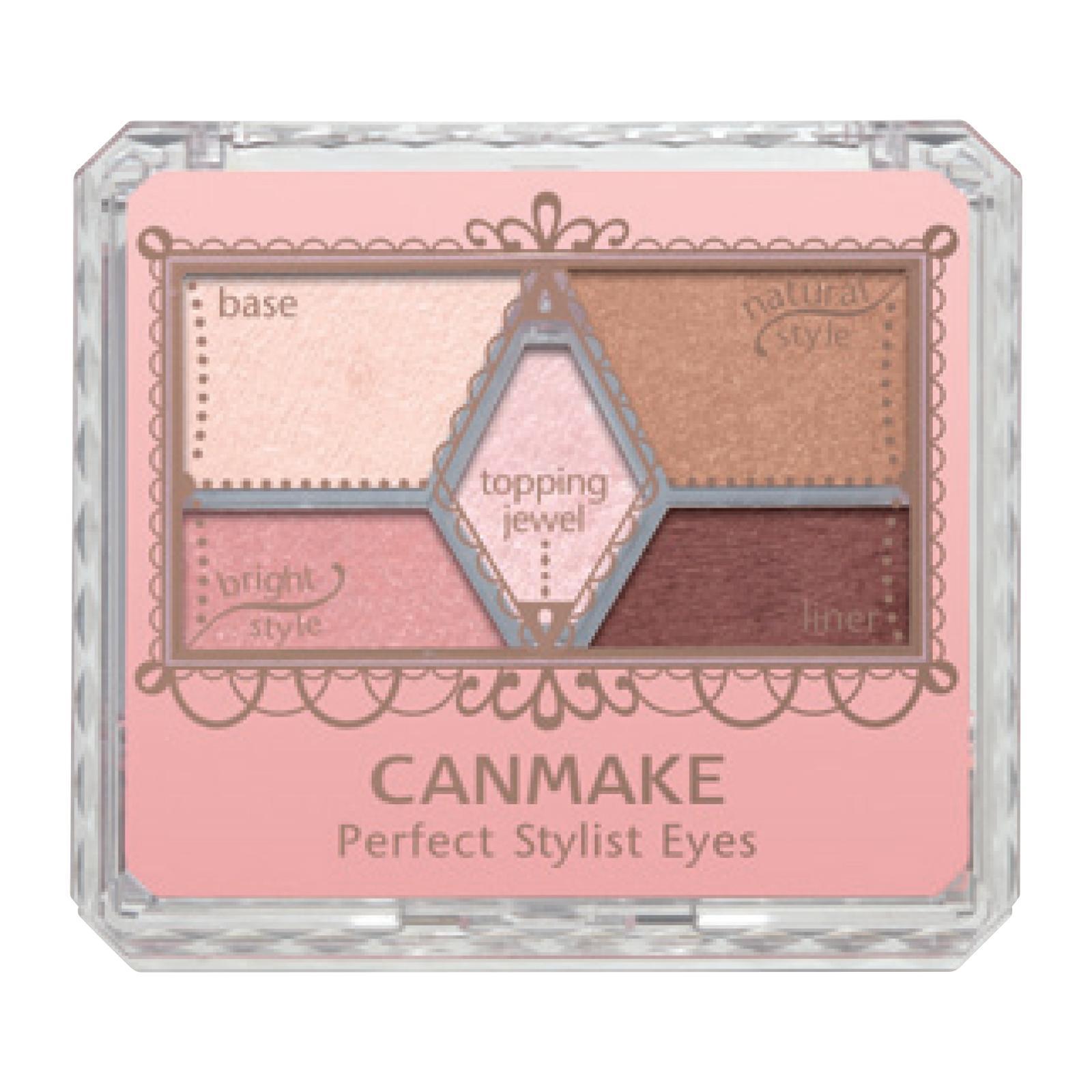 Canmake Perfect Stylist Eyes (05) Pinky Chocolat
