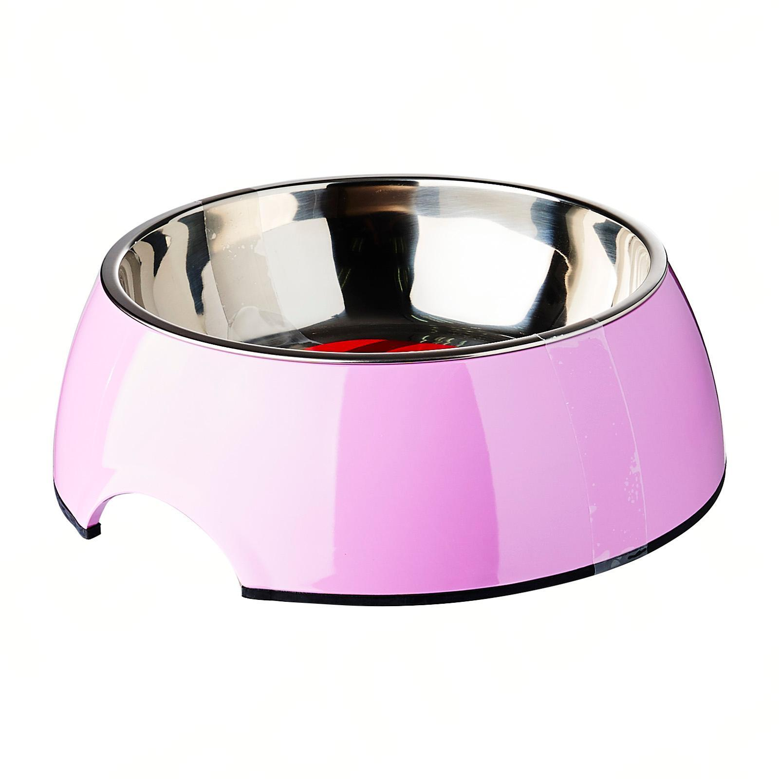 Dogit 2-In-1 Dog Dish Large Pink